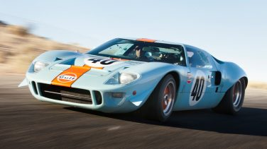Driving GT40